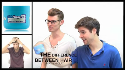 the biggest differences between men s hair wax and clay video ezeliving