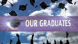 Graduation Celebration Motion Background