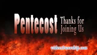 Pentecost Title Motion Background