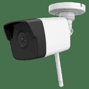 "Wi-Fi IP Camera 2 Megapixel - 1/2.8"" Progressive Scan CMOS - Impermeabilità IP66 - Lente 2.8 mm - IR LEDs portata 30 m - CMS e App per Smartphone / Tablet (Safire Connect)"