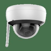 "Telecamera Dome WiFi 4 Megapixel - 1/3"" Progressive Scan CMOS - Compressione H.265+ / H.265 - Lente fissa 2.8 mm - Matrix IR Portata 30 m - IP66 | Audio | WiFi"