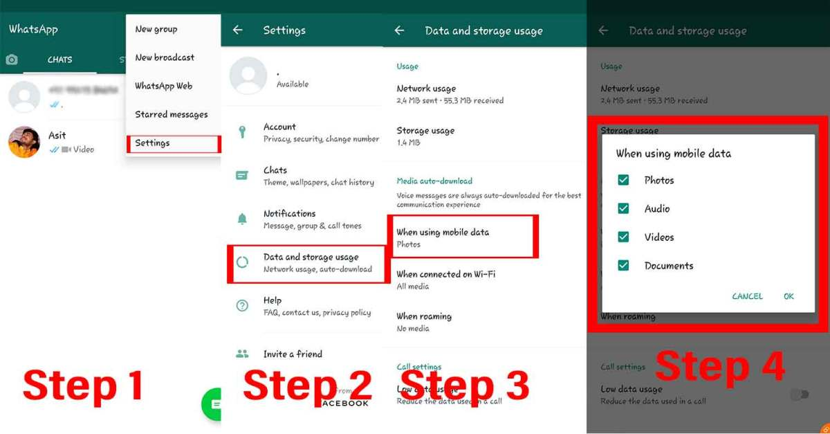 WhatsApp Tips: Disable Auto Download Media