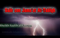 Salir con Jama'at At-Tabligh