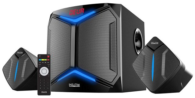 Mitashi HT 6550 BT 2.1 Channel Home Theatre System with Bluetooth (Black)