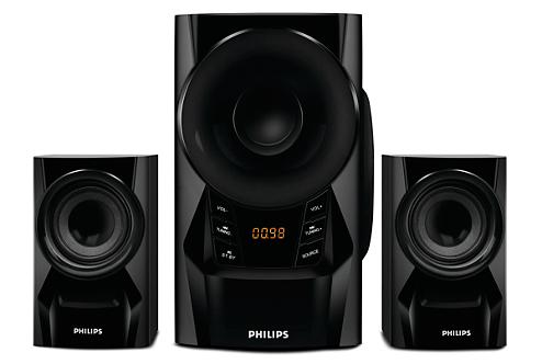 Philips IN-MMS6080B/94 2.1 Channel Multimedia Speakers