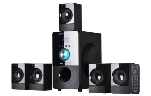 Truvison SE-5075BT 5.1 Multimedia Home Theatre Speaker System (Black)