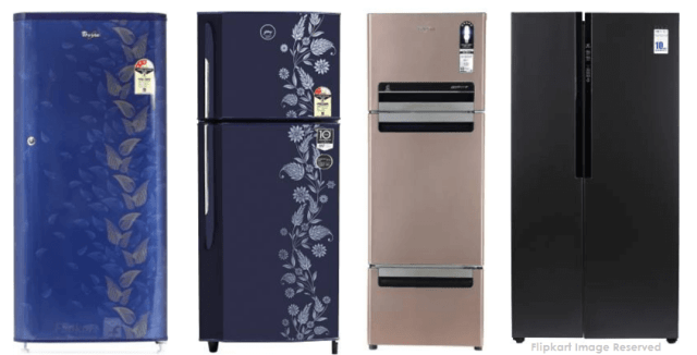 Types of Refrigerator