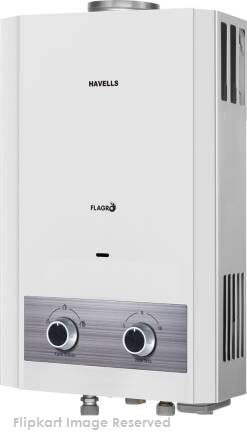 Havells-Flagro-6L-Gas-Water-Heater-with-Steel-Connection-Pipe