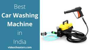 Best Car Washing Machine in India