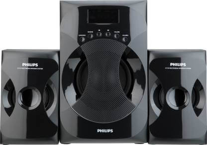 Philips MMS-4040F94 2.1 Channel Multimedia Speaker System