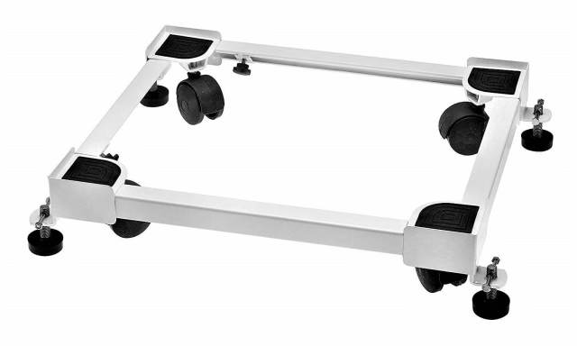 FASNO Heavy Duty Adjustable Front & Top Loading Washing Machine Stand