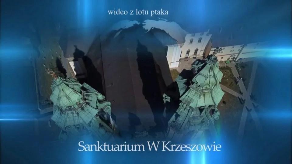 Bazylika Mniejsza w Krzeszowie sfilmowana z drona