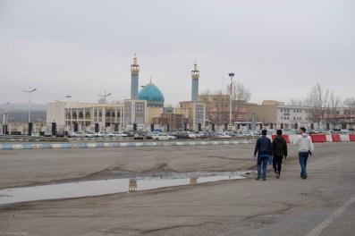 Autobahnmoschee zwichen Tabriz und Sanjan/Highwaymosque between Tabriz and Sanjan