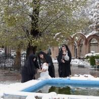seltener Schnee in Tabriz/rare snow in Tabriz