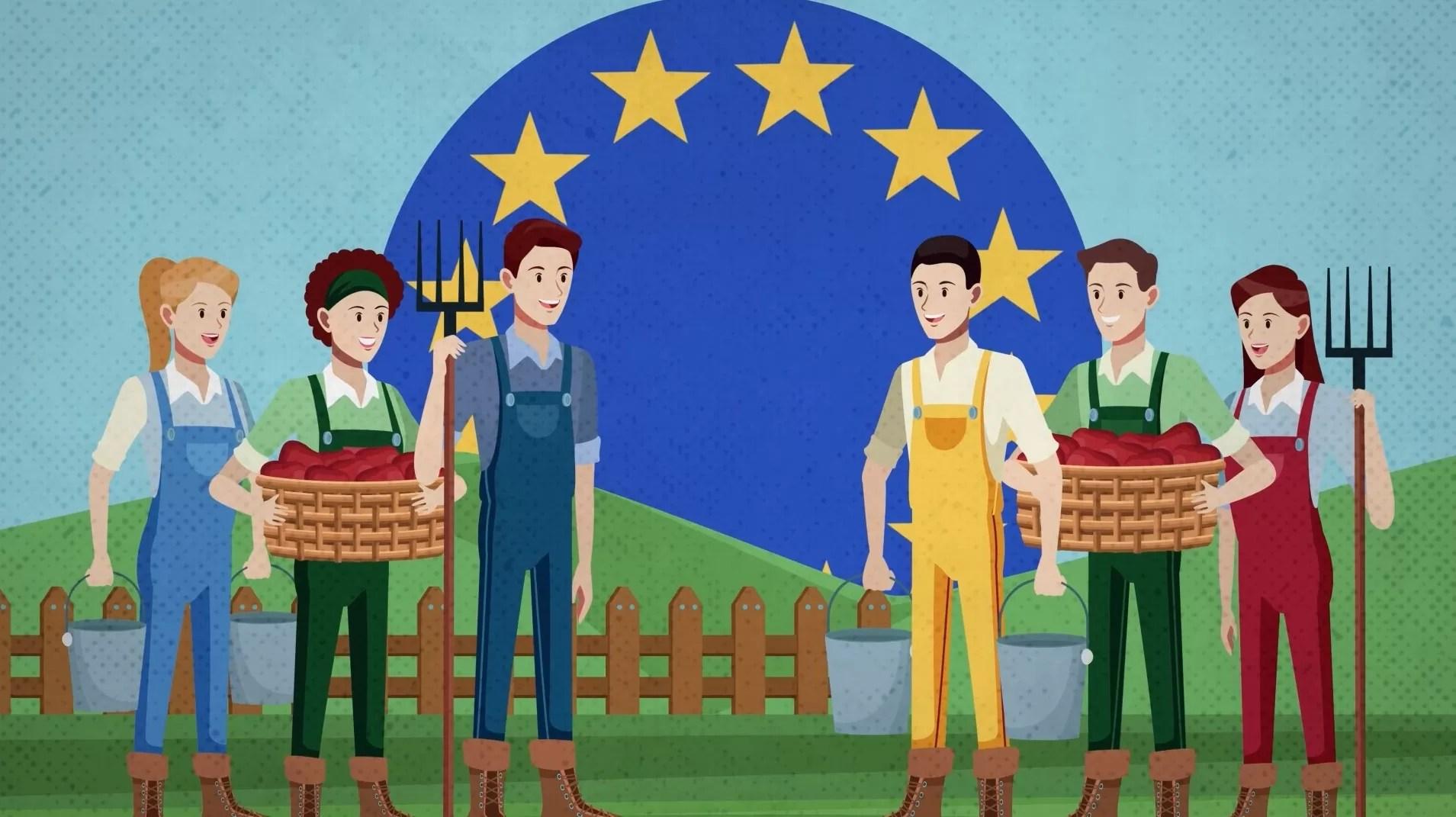2Д анимација - Земјоделска политика