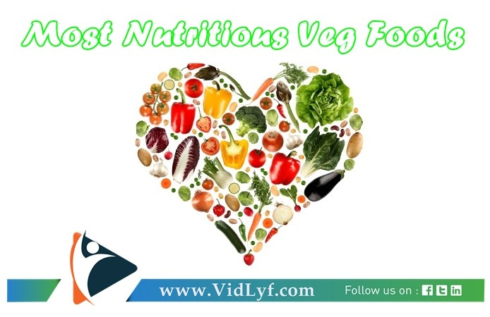 What are the most nutritious veg foods