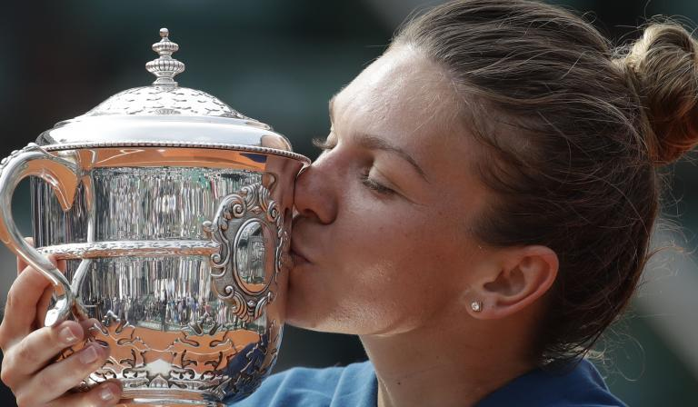 Simona Halep stuns Sloane Stephens to claim first Grand Slam
