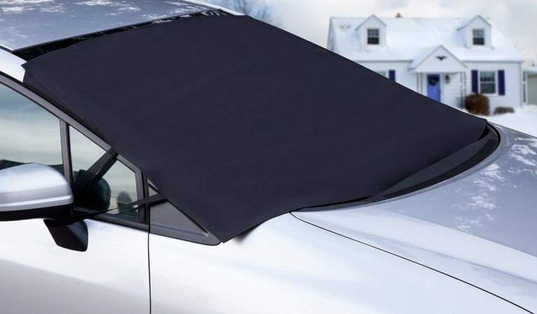 Protect your car with windshield in winter