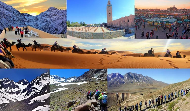 From Morocco's Mountains to Sahara Desert