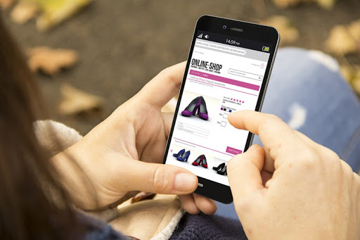 Shopping on Fingertips- Just one click away