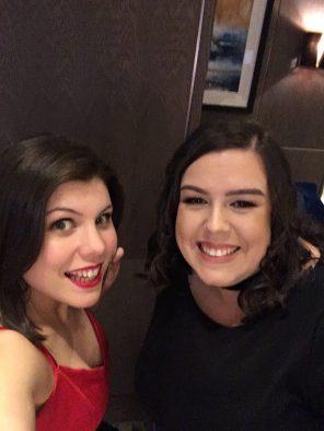 Sarah Scarlett and Lauren O'Neill
