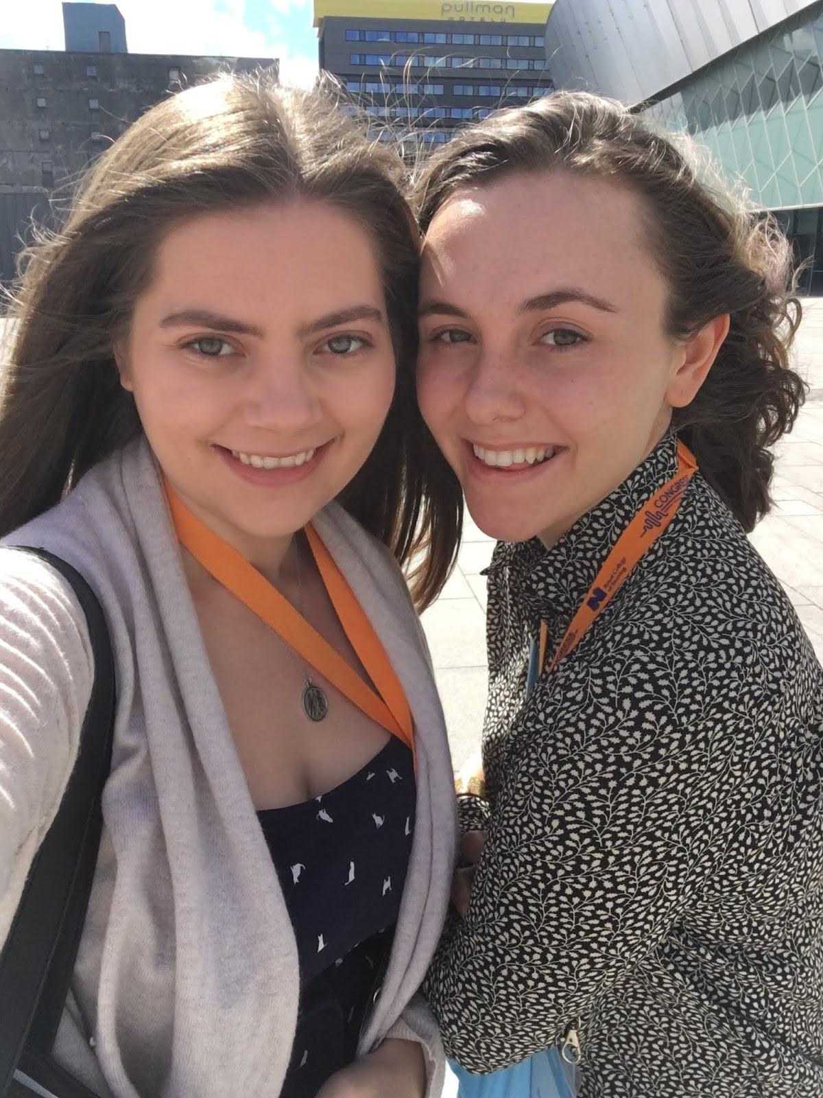 Hannah Slack and Beatrice Bennett