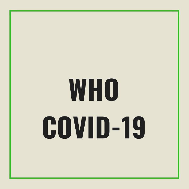 WHO covid-19