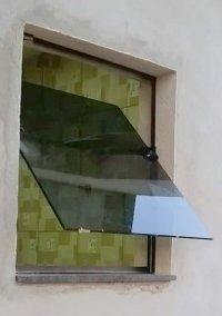 Janela Maxim-ar Vidro Fumê
