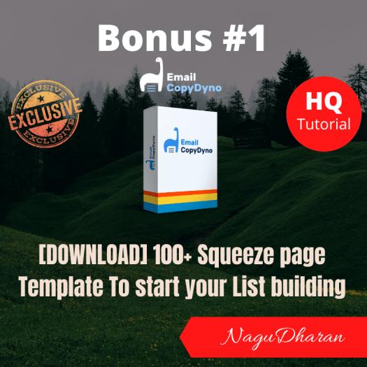Email CopyDyno Bonus 1