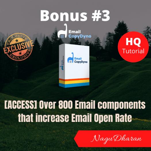 Email CopyDyno Bonus 3