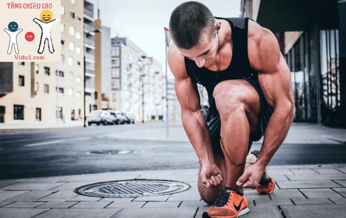 cách chạy bộ tăng chiều cao