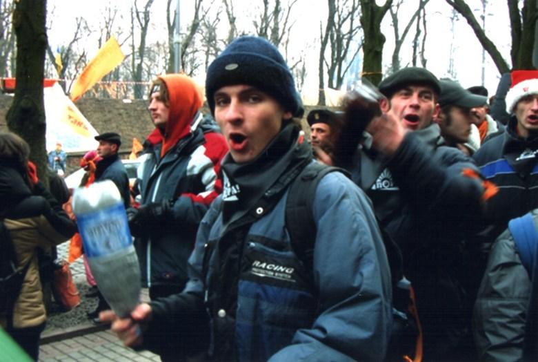 Акция на майдане Независимости (Киев, 2004)