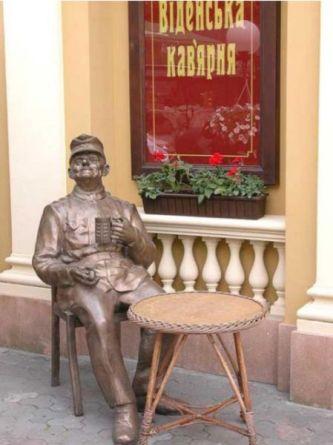 Венская кофейня в городе Львов