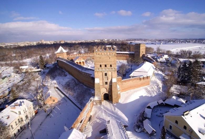 Lutsk. Lubart's castle.