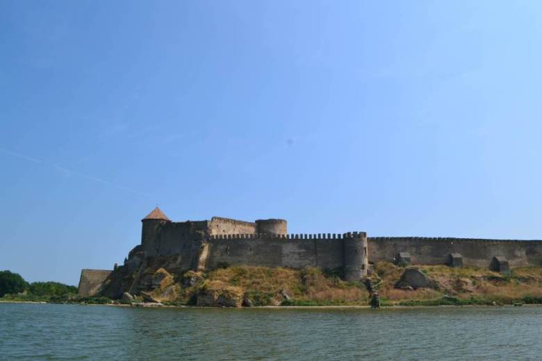View of the fortress from the estuary