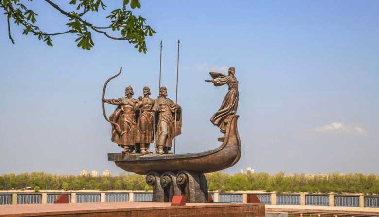 Monument to the founders of Kyiv