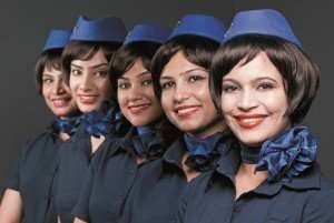 Pretty hot IndiGo Hostesses