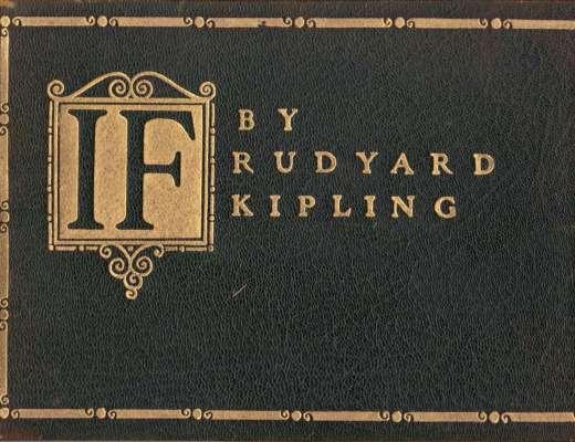 If by Rudyard Kipling 1910