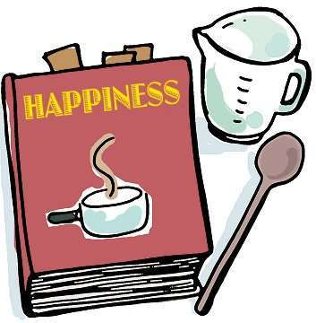 Dishing out happiness