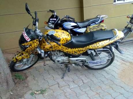 happiness police bike