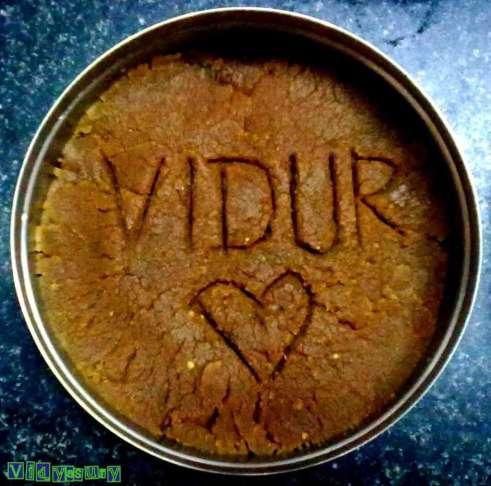 Vidya Sury Dishing out happiness