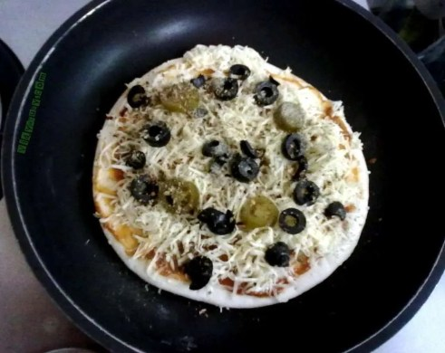 Vidya Sury Dishing out happiness pizza