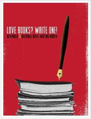 nanowrimo vidya sury love books