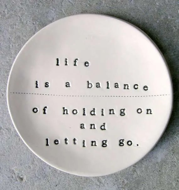 Letting Go Vidya Sury Holding On