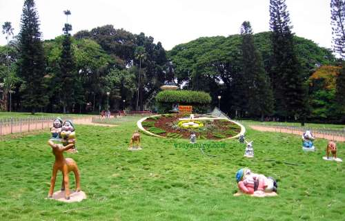 Lalbagh floral clock