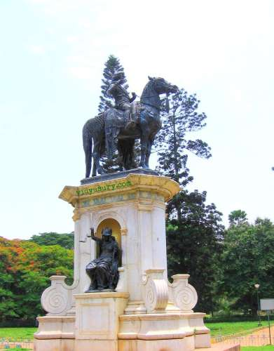 lalbagh statue