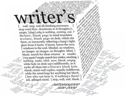 writers block bloggers block