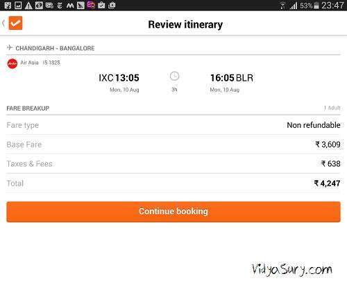 cleartrip app 1 vidya sury (4)