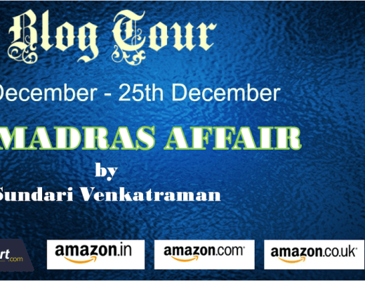 The Madras Affair Book Review Vidya Sury