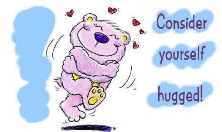 World Hug Day Vidya Sury